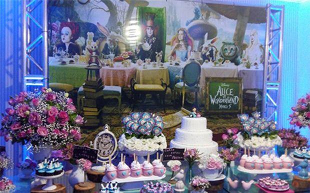 Festa 15 Anos Alice Pais Maravilhas 6 Festa Festa A Fantasia
