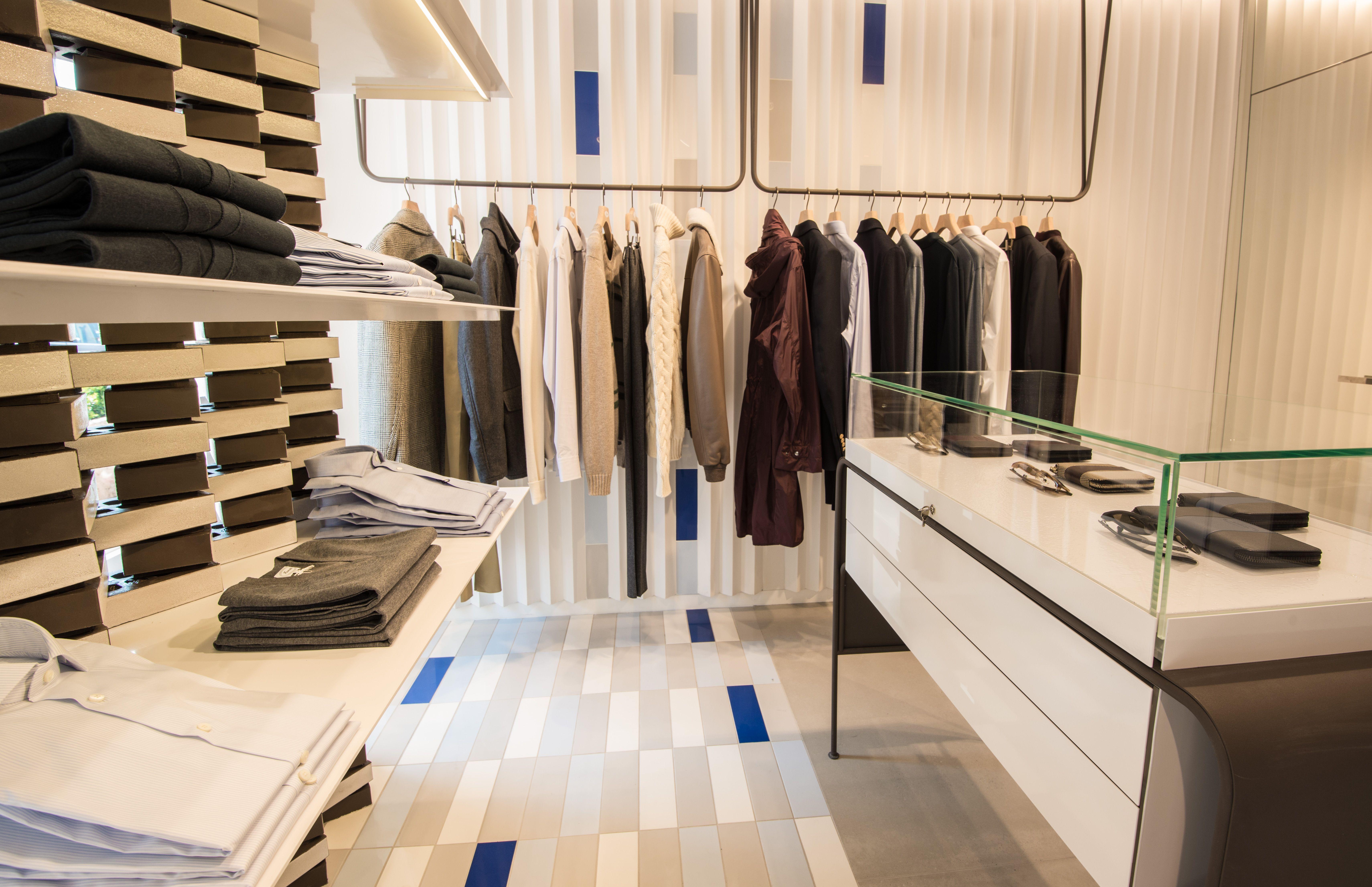 Discover the new concept store of Faconnable designed by AAarchitecture at Traverse de la Garonne, 83990 Saint-Tropez