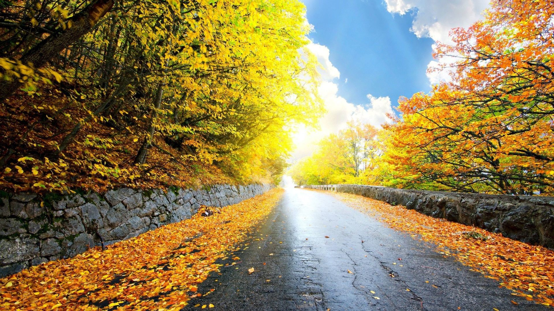 1920x1080 Road In The Autumn Mountains Hd Wallpaper 1920x1080 Road Mountain Wallpaper Road Autumn Day