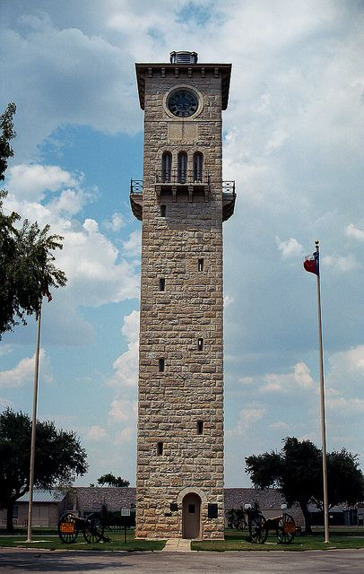 Clock Tower at Fort Sam, Houston, Texas