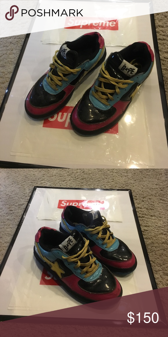 Bape STA shoes Used bape STA shoes condition 7.9 10 Shoes Sneakers ... 889d0940c