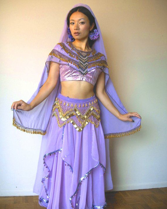 120fced9bf8c TRIBAL, BELLYDANCE, BOLLYWOOD Dance Costume, Women's, Indian, Lehenga,  Choli, Dupatta, Egyptian Hip