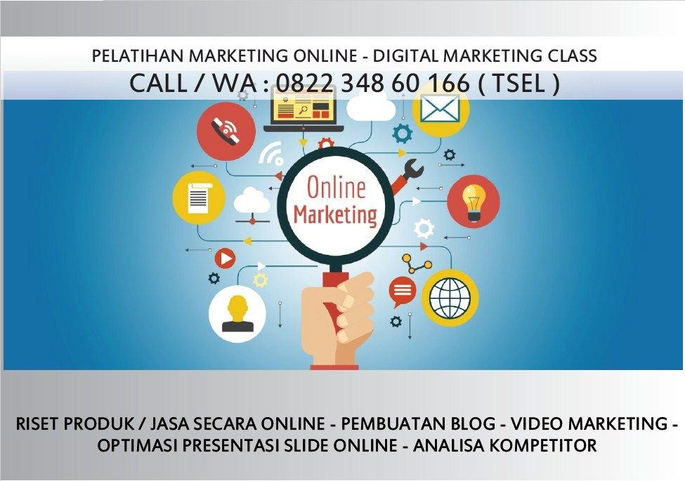 Pin Di Wa 0822 348 60 166 Training Online Marketing Malang