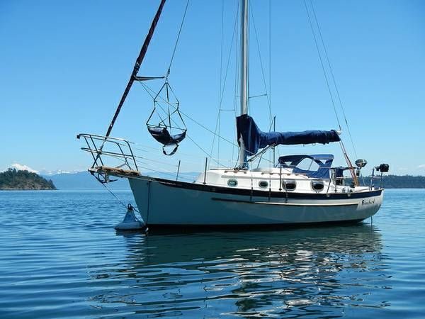 1987 Pacific Seacraft Dana 24 With Images Small Yachts Yacht Boat