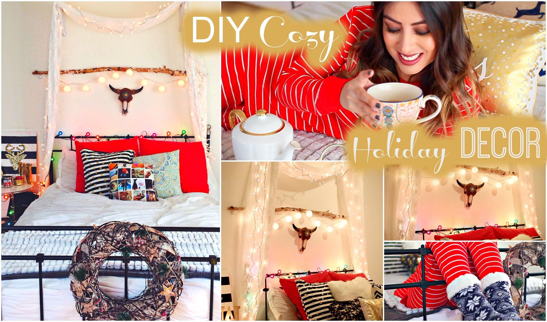 Diy Cozy Holiday Room Decor Tumblr Christmas Christmas Diy