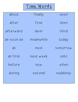 Transition Word List Transition Words List Of Transition Words Word List