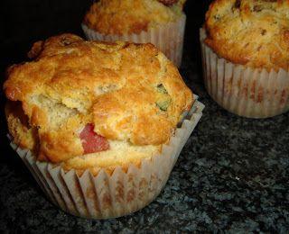 La chica de la casa de caramelo: Muffins salados