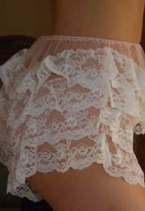 Pink  Frou-Frou  Can can Frilly Knickers  121f7c130