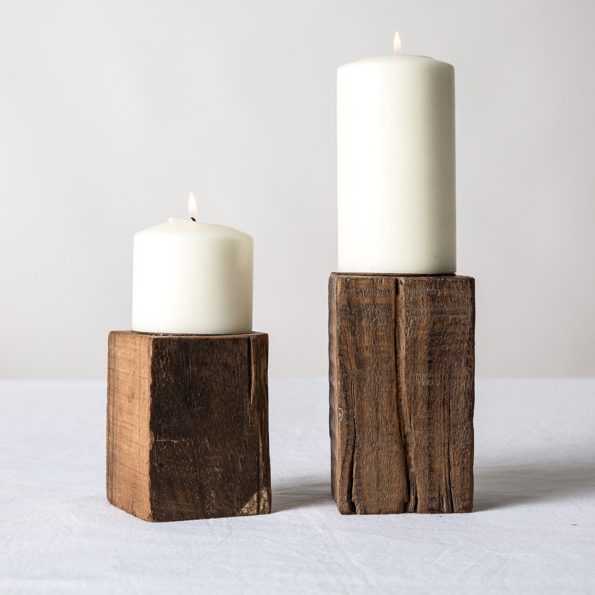 Block Candle Stand