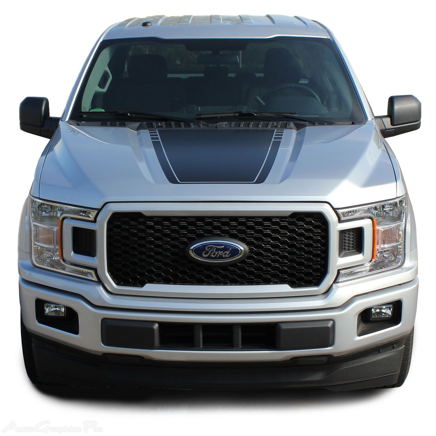 2015-2020 Ford F-150 Hood Decals SPEEDWAY HOOD Graphics
