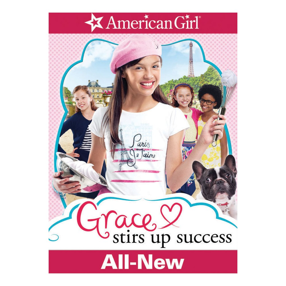 An American Girl Grace Stirs Up Success Dvd Video American Girl American Girl Birthday American Girl Birthday Party