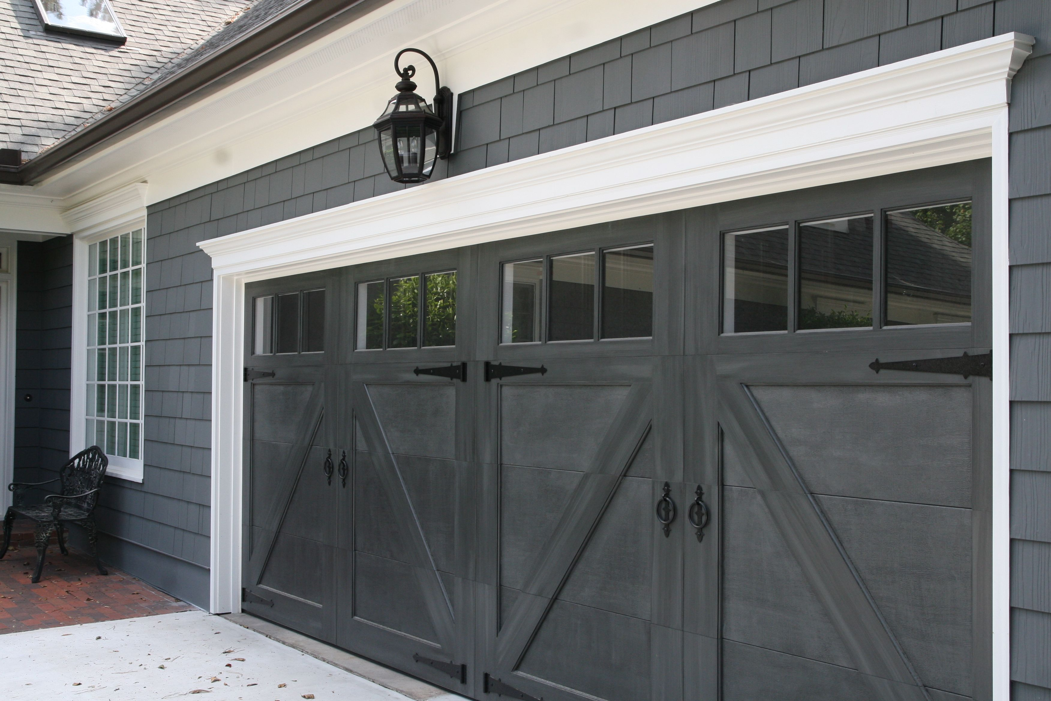 Garage doors garage carriage doors pinterest garage doors doors and exterior for Exterior garage doors