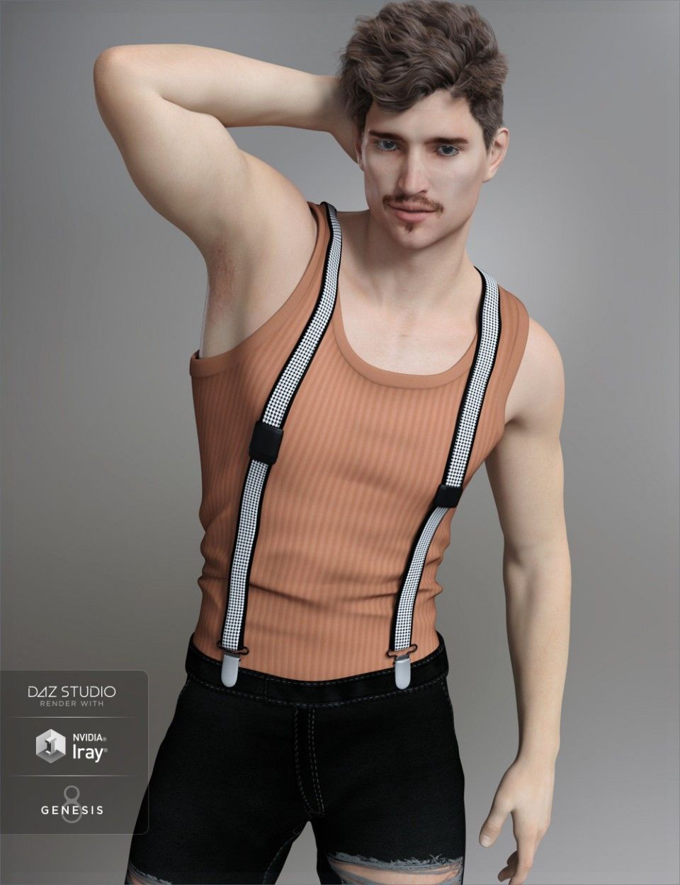 7c85f65c5cb FWSA Jett HD for Genesis 8 Male