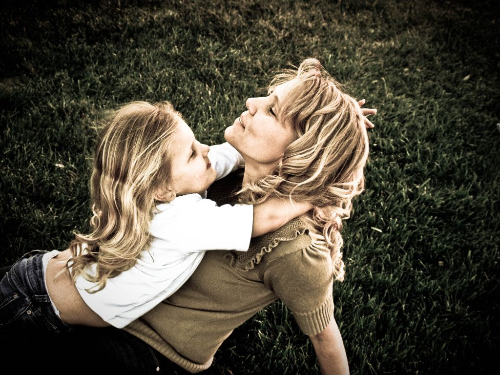 Mother Daughter Photo