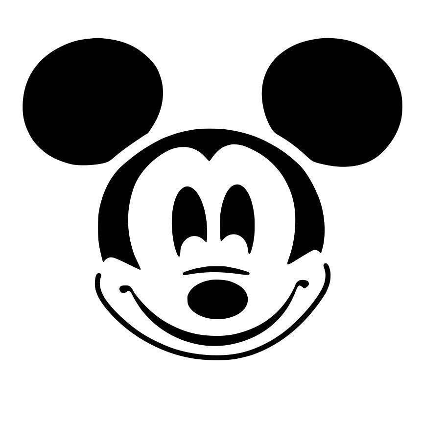 Mickey Mouse Head Svg File Download  Cricut  Pinterest  Mickey