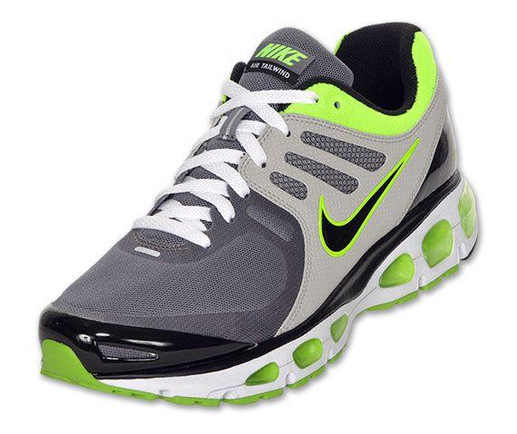 buy popular bb572 fd5ee Nike Air Max Tailwind 2010 - Neon Green - Grey + Black ...