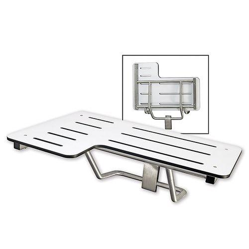 Folding Shower Bench - Satin Stainless Steel - Harney Hardware ...