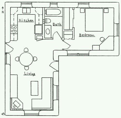 Best Layout Small House Floor Plans Tiny House Floor Plans L