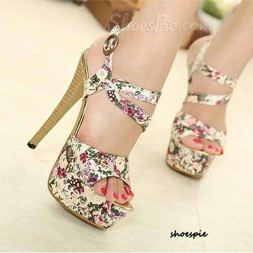 flowers heel