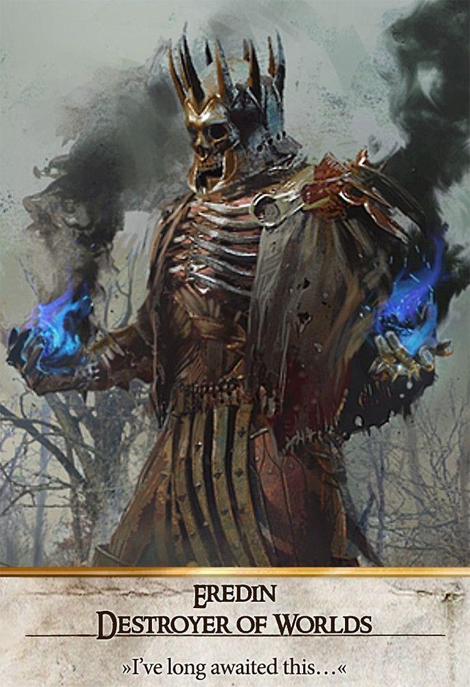 Eredin Destroyer of Worlds (Gwent Card) The Witcher 3