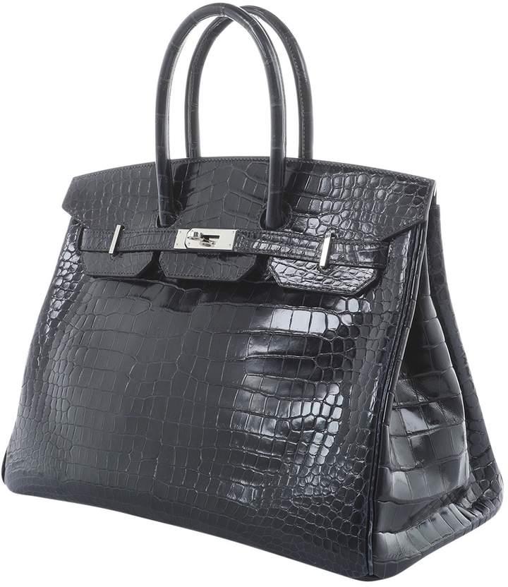 Birkin 35 crocodile handbag  a0f01d8495407