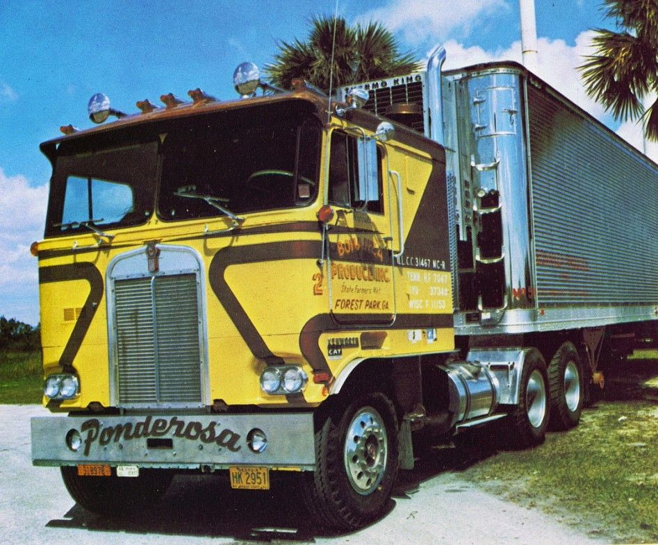 1972 Kenworth K100 Coe Ponderosa With Images Kenworth Trucks