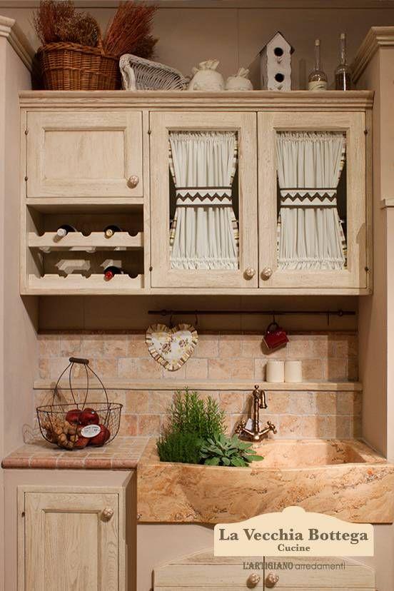 Gallery cucine in muratura Rhonda avorio  kitchen nel