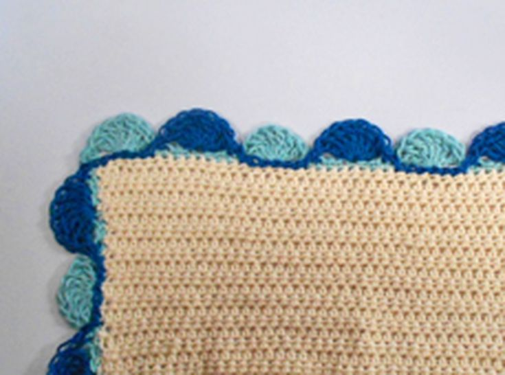 Crochet Edgings for Your Baby Blankets with These Free Patterns