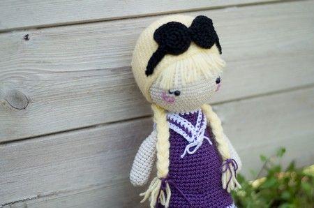 Amigurumi Tuto : Mélina poupée doll crochet tuto amigurumi crochet doudous