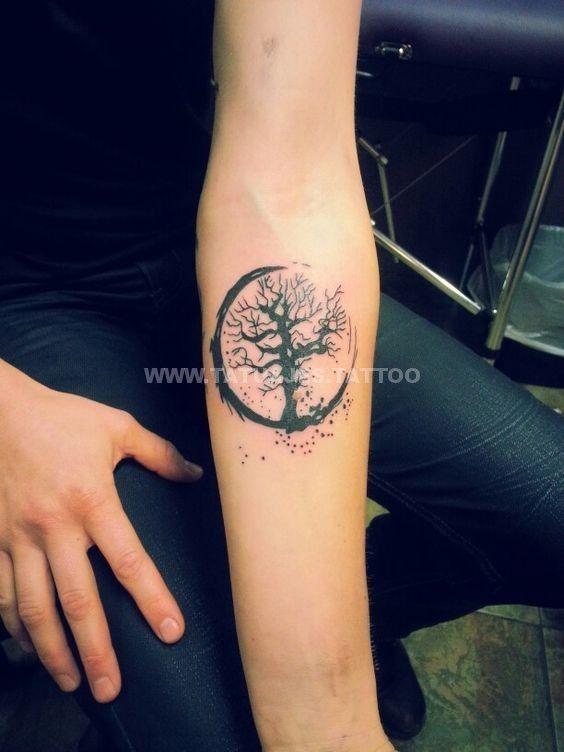 50 Ideas De Tatuajes De Arbol De La Vida Foto Y Significado Tattoos Para Mujer Hombre Tattoos Life Tattoos Elbow Tattoos