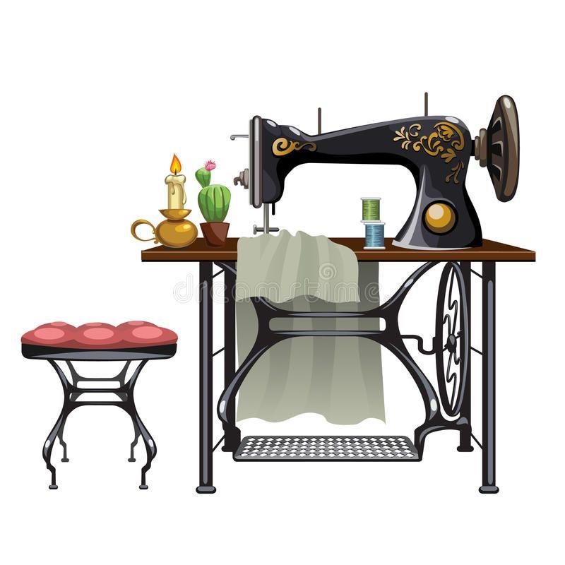 Картинки по запросу швейная машина и маникен | Швейные ...