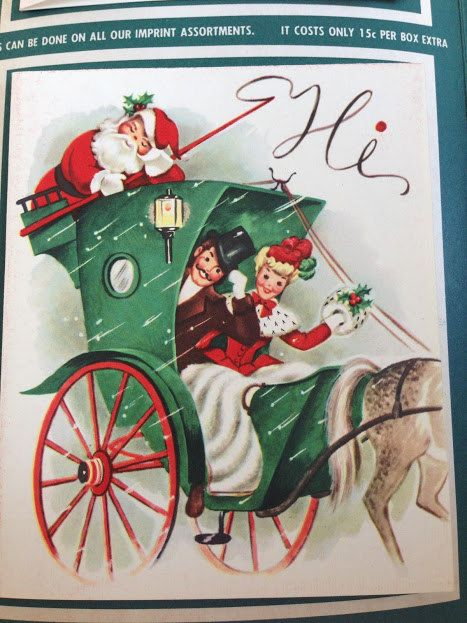 Vintage 1950u0027s Salesmanu0027s Sample Christmas Card Folio, Original - christmas greetings sample