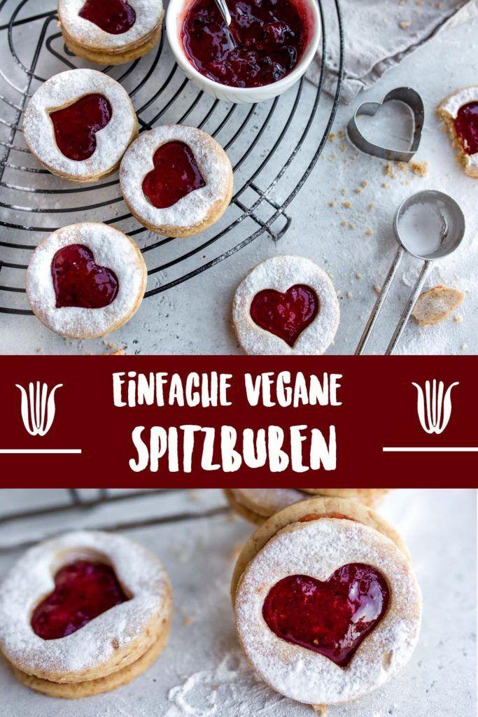 Vegane Spitzbuben - Einfach und lecker   Vanillacrunnch   Food & Lifestyle Blogger