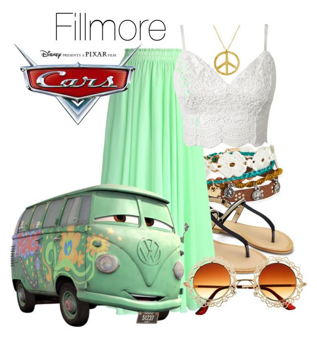 """""""Fillmore"""" by luiglesias ❤ liked on Polyvore featuring Aéropostale, Wet Seal, Chicwish, Disney and disney"""