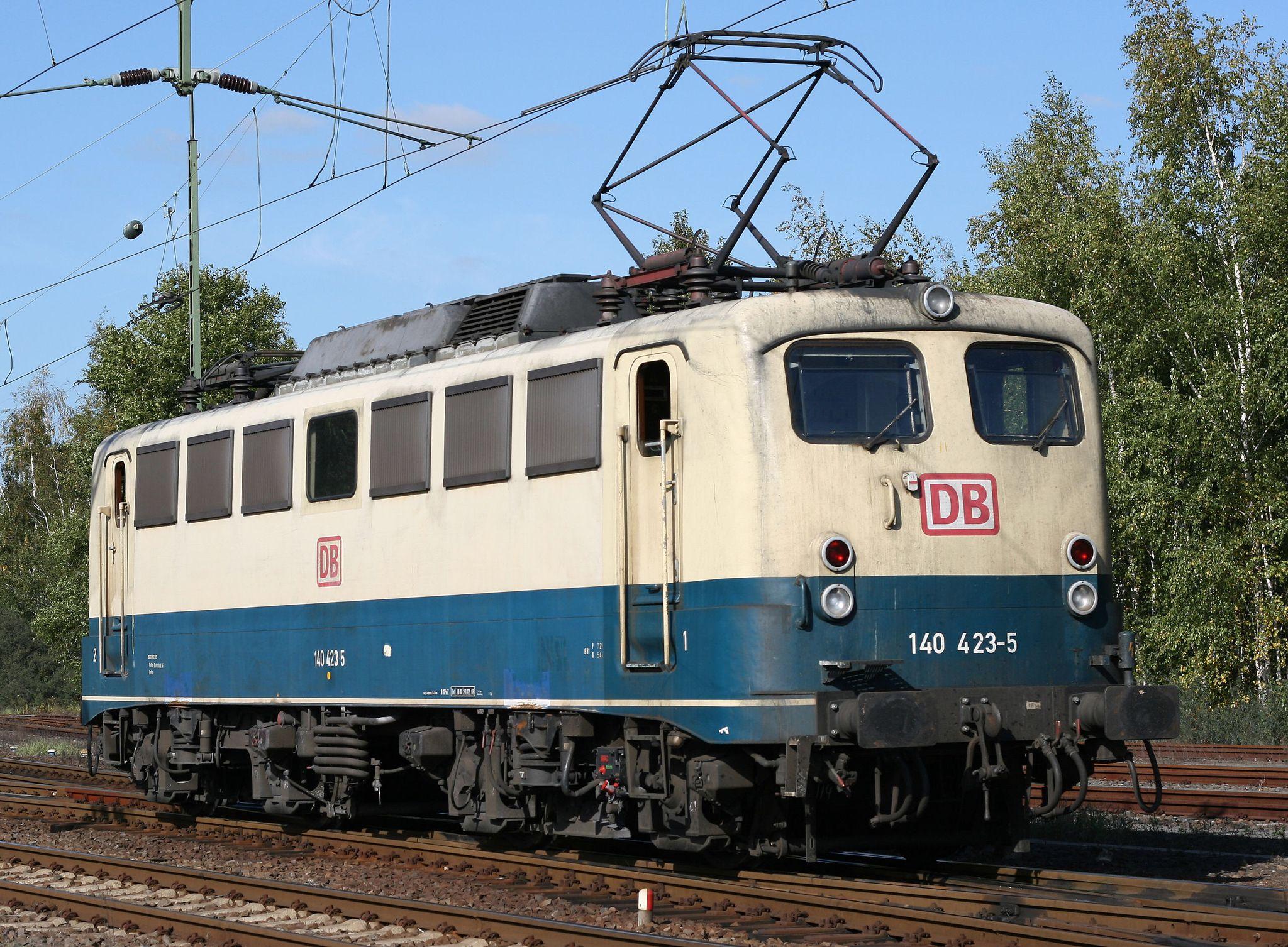 Deutsche Bundesbahn (DB) E 40 Baureihe 140 4235