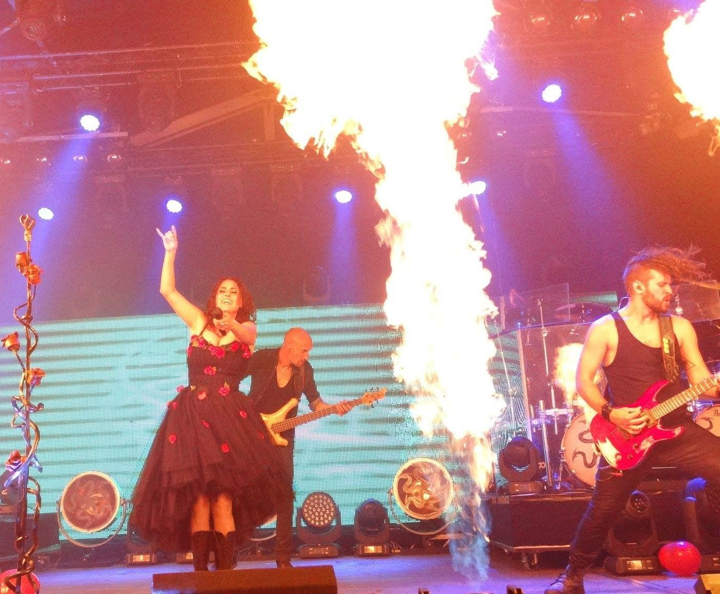 Within Temptation at Veenhoop 2016