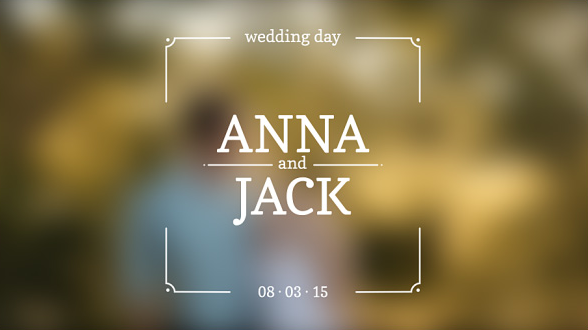 Video Intro Templates 55 After Effects Wedding