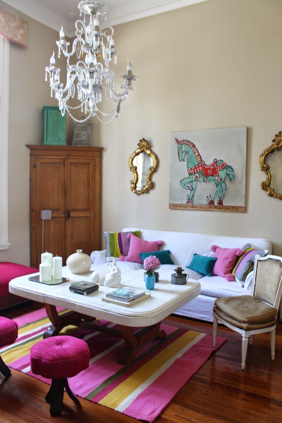 El living de mi casa: Vintage Deco Marce | Mi casa | Pinterest ...