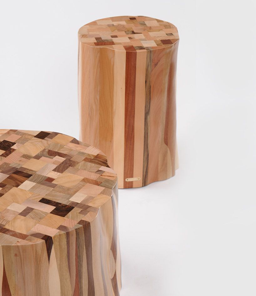 The Wake Furniture Collection. Functional Furniture Made From Scrap Pieces  Of Timber. Lovely.