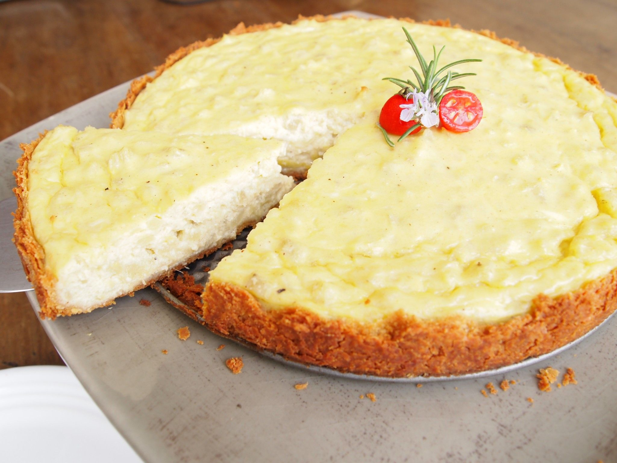 Pastel de alcachofas artichoke tart recipes latin america let thy food be thy medicine with this tasty artichoke tart forumfinder Image collections
