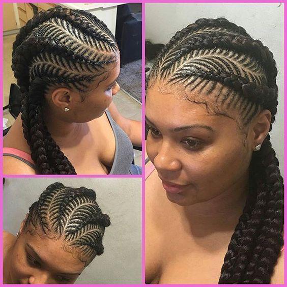 30 Beautiful Fishbone Braid Hairstyles For Black Women Braided Hairstyles For Black Women Cornrow Braid Styles Hair Styles