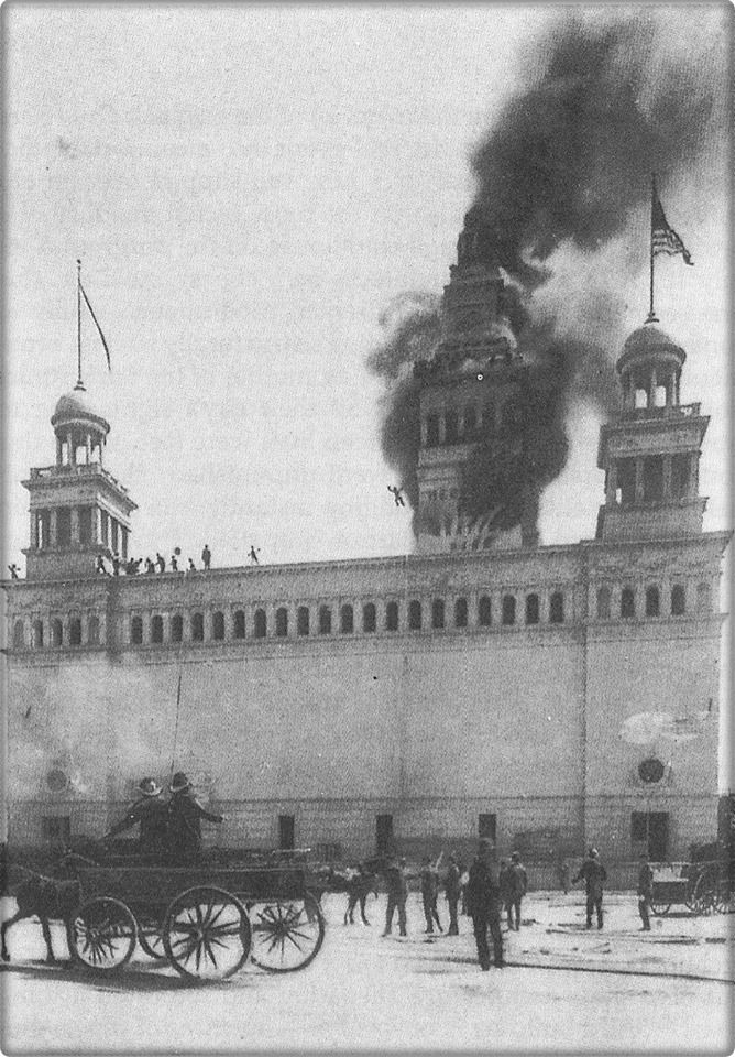 A fire at the Cold Storage Warehouse became an instant spectacle. & Worldu0027s Columbian Exposition. A fire at the Cold Storage Warehouse ...