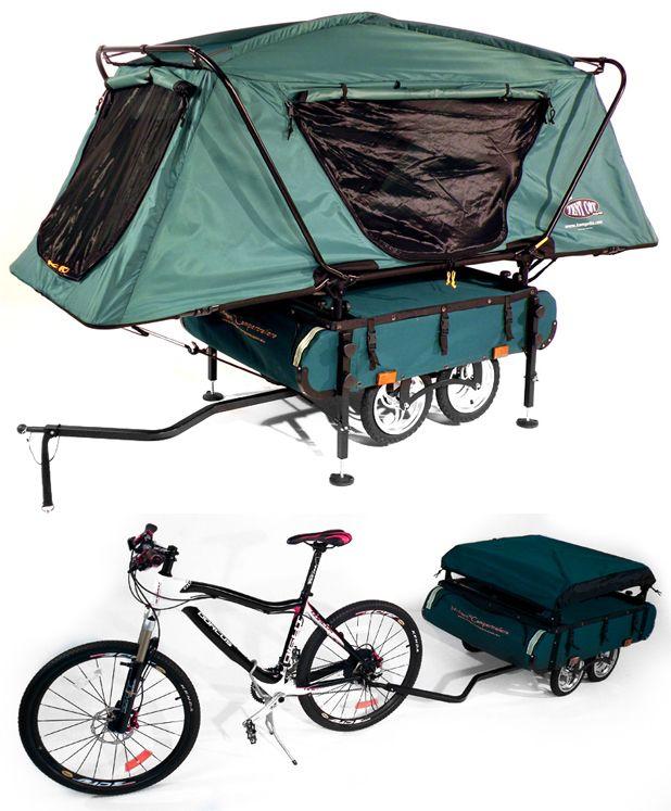 cycle kamp tent trailer
