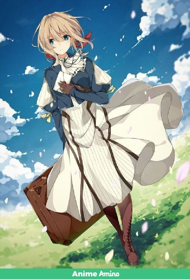 Pin By Aţhar Mafarjeh On Violet Evergarden In 2019 Anime Violet