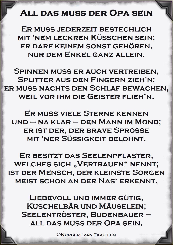 Lustige Geburtstagswunsche Fur Opa Beautiful Gedicht Zum 80