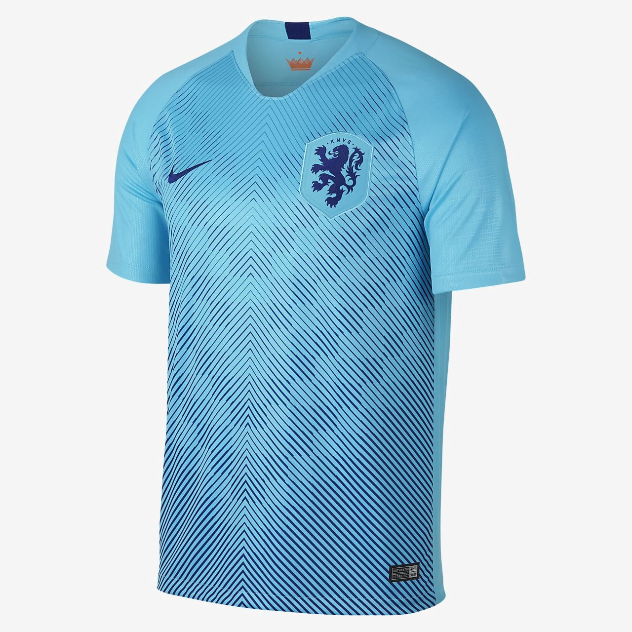 2bb5bf18c7f72 Nike 2018 Netherlands Stadium Away Men s Soccer Jersey - 2XL Blue   men ssoccer