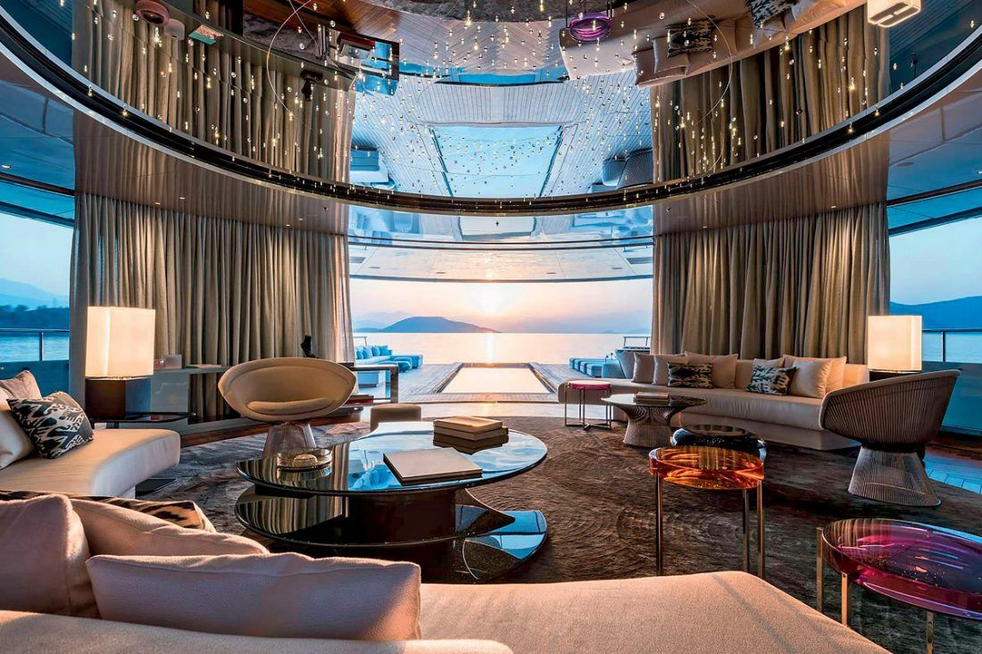 The World's Best Superyachts in 2020 Yacht interior