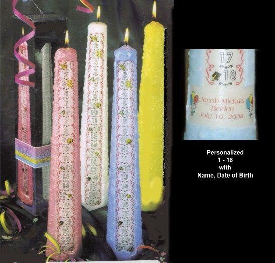 Birthday Candles Unique