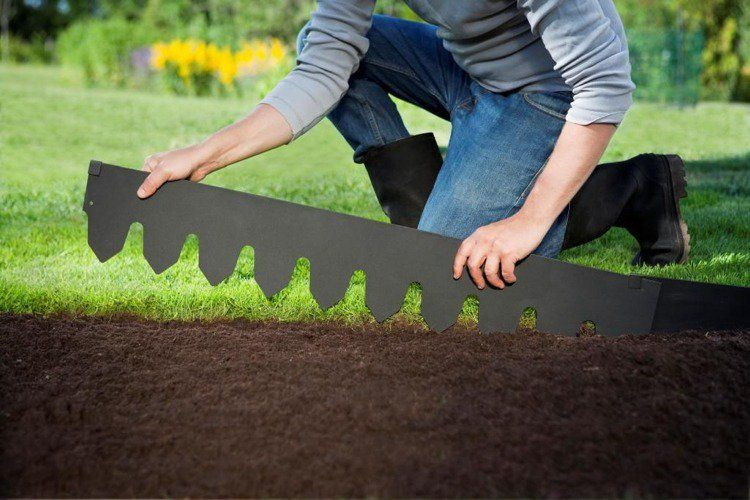 Bordures de jardin – 40 idées sur les designs les plus répandus ...