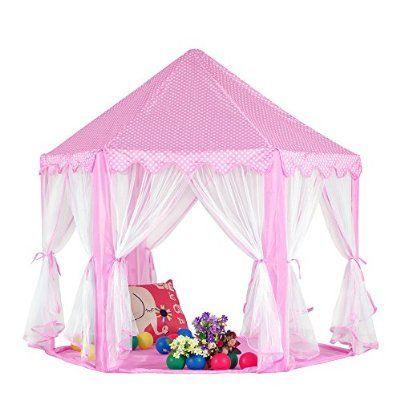 Kinder Spielzelt Prinzessin Haus für 3-4 Kinder | finnley ...
